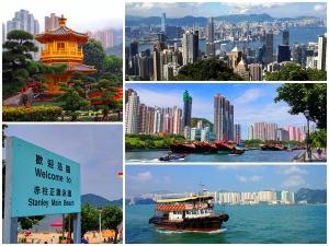 Hong Kong Island & Kowloon full day private car tour highlights