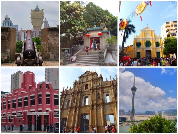 Macau full day private car tour start at Hong Kong highlights