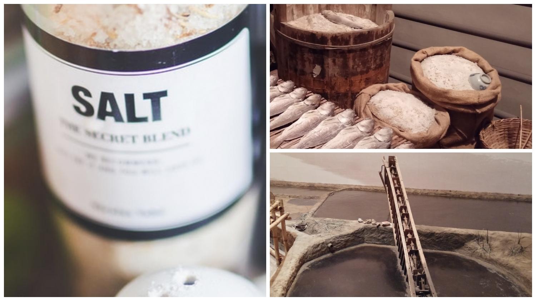 See Hong Kong's salt making history at 4 different places.