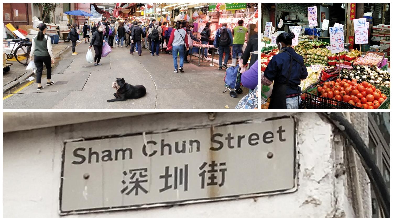 Short Sham Chun Street is a scene of a pandemic movie
