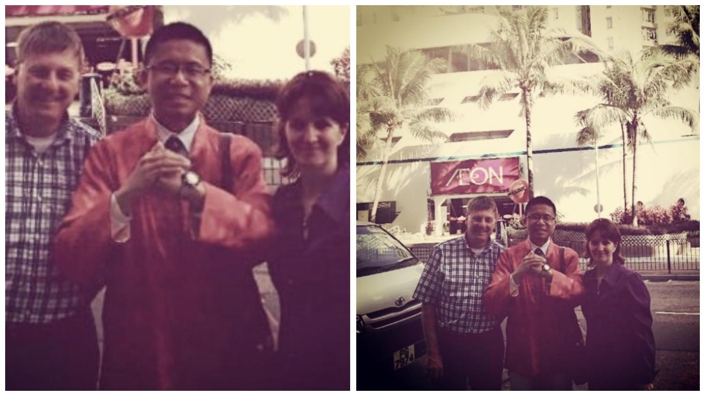 Frank the tour guide, Frank's clients, Hung Hom Whampoa