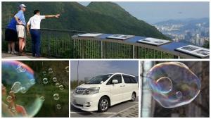 A safe mini bubble inside the big travel bubble for Singapore couples, Hong Kong private car tour
